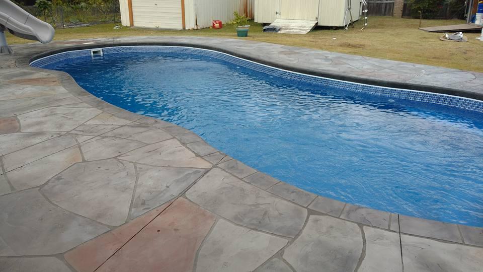 Crystal Coast Pools Llc In Ground Swimming Pools Decorative Concrete